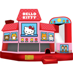 hello kitty bouncy castle - BC Shooting Star