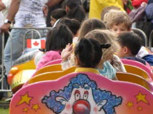 Clown Train Ride