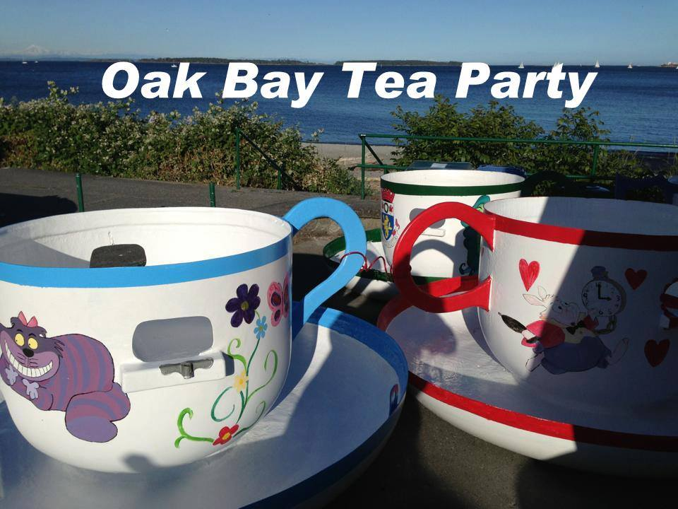 oak bay tea party